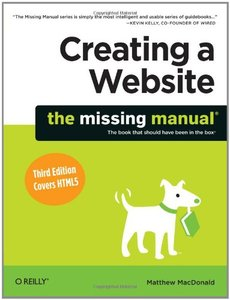 Creating a Website: The Missing Manual, 3/e (Paperback)-cover