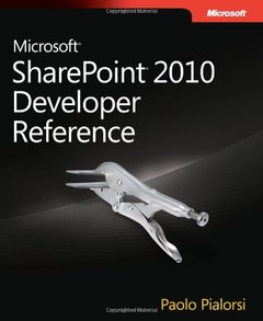 Microsoft SharePoint 2010 Developer Reference (Paperback)-cover
