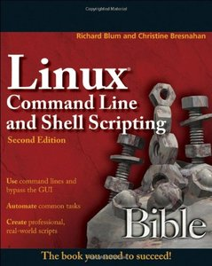 Linux Command Line and Shell Scripting Bible, 2/e (Paperback)-cover