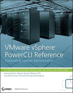 VMware vSphere PowerCLI Reference: Automating vSphere Administration (Paperback)-cover