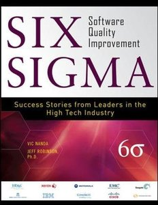 Six Sigma Software Quality Improvement (Hardcover)-cover