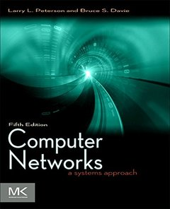 Computer Networks, 5/e: A Systems Approach (Hardcover)-cover