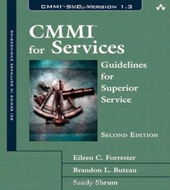 CMMI for Services: Guidelines for Superior Service, 2/e (Hardcover)-cover
