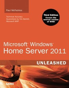 Microsoft Windows Home Server 2011 Unleashed, 3/e (Paperback)-cover