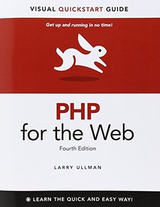 PHP for the Web: Visual QuickStart Guide, 4/e (Paperback)-cover