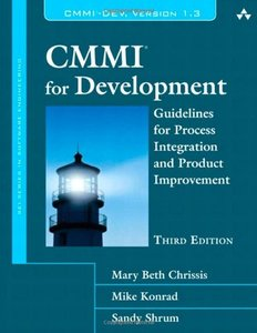 CMMI for Development: Guidelines for Process Integration and Product Improvement, 3/e (Hardcover)-cover