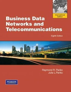 Business Data Networks and Telecommunications, 8/e (IE-Paperback)