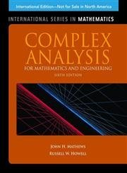 Complex Analysis for Mathematics & Engineering, 6/e (Paperback)-cover