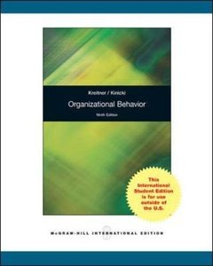 Organizational Behavior, 9/e (IE-Paperback)-cover