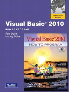 Visual Basic 2010 How to Program, 5/e (IE-Paperback)-cover