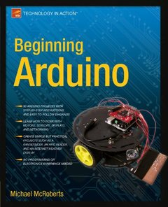Beginning Arduino (Paperback)-cover