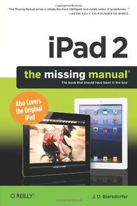 iPad 2: The Missing Manual, 2/e (Paperback)-cover