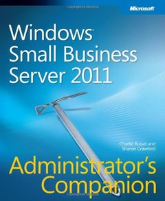 Windows Small Business Server 2011 Administrator's Companion (Paperback)-cover