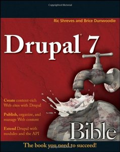 Drupal 7 Bible (Paperback)-cover