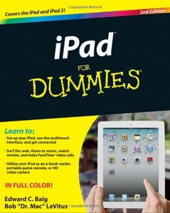 iPad For Dummies, 2/e (Paperback)-cover