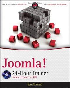Joomla! 24-Hour Trainer (Paperback)-cover