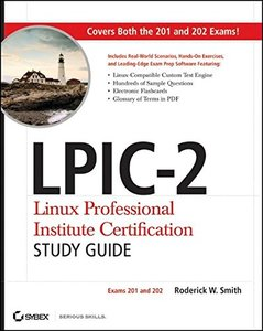 LPIC-2 Linux Professional Institute Certification Study Guide: Exams 201 and 202 (Paperback)-cover