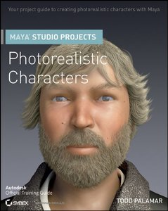 Maya Studio Projects Photorealistic Characters (Paperback)-cover