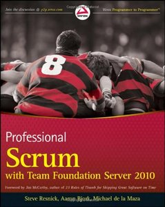 Professional Scrum with Team Foundation Server 2010 (Paperback)-cover