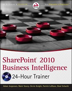 SharePoint 2010 Business Intelligence 24-Hour Trainer (Paperback)-cover