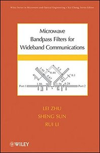 Microwave Bandpass Filters for Wideband Communications (Hardcover)-cover