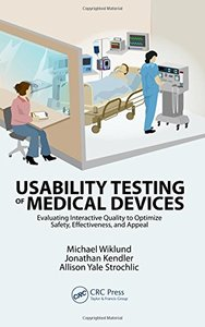 Usability Testing of Medical Devices (Hardcover)-cover