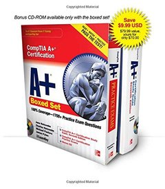 CompTIA A+ Certification Boxed Set (Exams 220-701 & 220-702) (Paperback)-cover