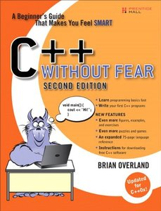 C++ Without Fear: A Beginner's Guide That Makes You Feel Smart, 2/e (Paperback)-cover
