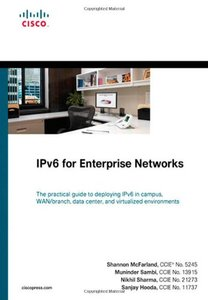 IPv6 for Enterprise Networks (Hardcover)-cover
