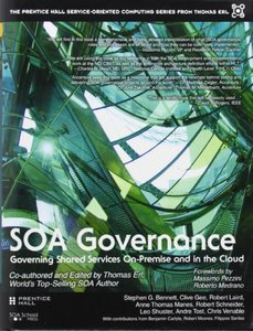 SOA Governance: Governing Shared Services On-Premise and in the Cloud (Hardcover)-cover