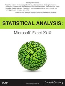 Statistical Analysis: Microsoft Excel 2010 (Paperback)-cover