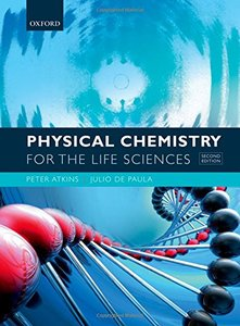 Physical Chemistry for the Life Sciences, 2/e (Paperback)-cover