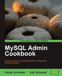 MySQL Admin Cookbook (Paperback)-cover