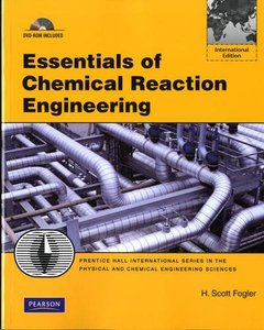 Essentials of Chemical Reaction Engineering (IE-Paperback)-cover