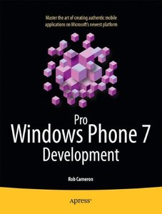 Pro Windows Phone 7 Development (Paperback)-cover