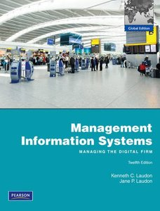 Management Information Systems, 12/e (IE-Paperback)-cover