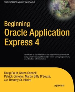 Beginning Oracle Application Express 4 (Paperback)-cover