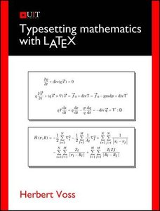 Typesetting Mathematics with LaTeX (Paperback)-cover