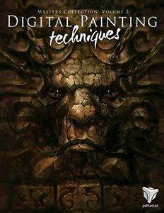 Digital Painting Techniques: Practical Techniques of Digital Art Masters : Volume 2 (Paperback)-cover