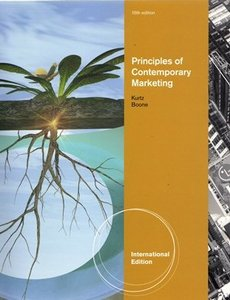 Principles of Contemporary Marketing, 15/e (IE-Paperback)