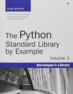 The Python Standard Library by Example (Paperback)-cover