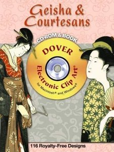 Geisha and Courtesans CD-ROM and Book (Paperback)