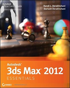 Autodesk 3ds Max 2012 Essentials (Paperback)-cover