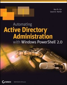 Automating Active Directory Administration with Windows PowerShell 2.0 (Paperback)-cover
