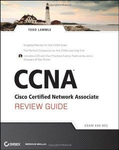 CCNA Cisco Certified Network Associate Review Guide : Exam 640-802 (Paperback)-cover