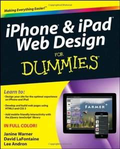 iPhone and iPad Web Design For Dummies (Paperback)-cover