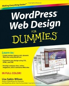 WordPress Web Design For Dummies (Paperback)-cover