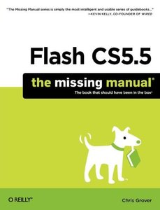 Flash CS5.5: The Missing Manual, 6/e (Paperback)-cover