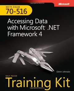 MCTS Self-Paced Training Kit (Exam 70-516): Accessing Data with Microsoft .NET Framework 4 (Paperback)-cover