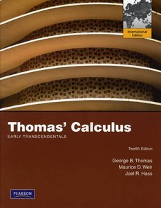 Thomas' Calculus Early Transcendentals, 12/e (IE-Paperback)-cover